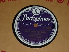 """Kirchin Band """"Lester Leaps The Mambo"""" Parlophone 78"""