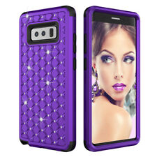 For Samsung Galaxy Note 8 Matte Hybrid Shockproof Silicone Armor Cover Case Skin