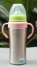 Mabo Love Stainless Steel Baby Bottle - 200ml - Blue