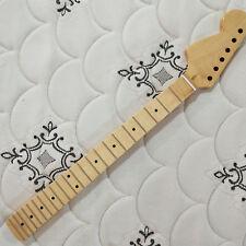 Big Reverse headstock Full scalloped  guitar neck 22 fret maple for ST style