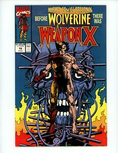 Marvel Comics Presents #72 1991 VF/NM 1st Weapon X Wolverine Barry Windsor