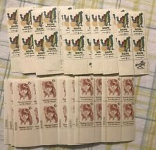US Discount POSTAGE STAMP PLATES.06 .10 Fv= $27.12 Retarted Children can be Help