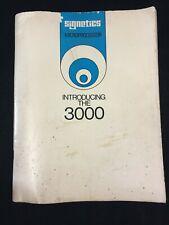 VINTAGE 1977 INTRODUCING SIGNETICS 3000 BIPOLAR MICROPROCESSOR BOOKLET