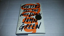 Turtles All the Way Down by John Green (2017, Hardcover) SIGNED 1st/1st