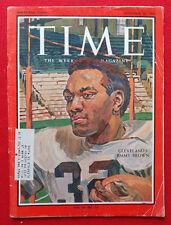 November 26, 1965 NFL FOOTBALL CLEVELAND BROWNS JIM BROWN TIME Magazine