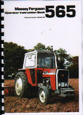 "Massey Ferguson ""565"" Tractor Operator Instruction Manual Book"