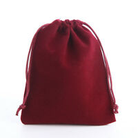 15 10 25 50 Velvet Jewellery Drawstring Wedding Gift Bag Favour Pouches Bags