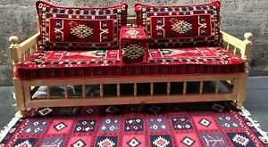 *Various Colours*Turkish, Moroccan Floor Oriental Seating Majlis Sofa Home Decor