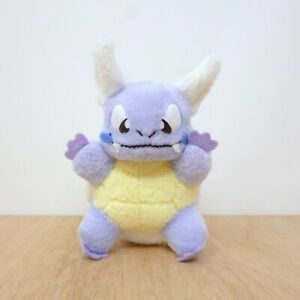 Official Pokemon Bandai 1999 - Wartortle Friends Plush Soft Toy Japan Import 4""