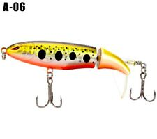 Whopper Plopper Topwater Floating Fishing Lures Rotating Tail A-06