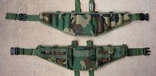 SDS Molle Battle Belt. Modular Belt - Hunting, paintball, prospecting. Small