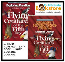 NEW APOLOGIA EXPLORING CREATION ZOOLOGY 1 TEXTBOOK + JOURNAL HOMESCHOOL SET