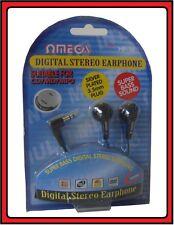 DIGITAL STEREO EARPHONE EAR PHONE HEADPHONE MP3 MP4 MINI DISC MD DVD 3.5MM P16