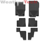 WeatherTech All-Weather Floor Mats - MB GL-Class w/3rd Row - 2013-2015 - Black
