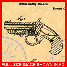 US Patent for a DERRINGER PISTOL - Hand  Gun #474