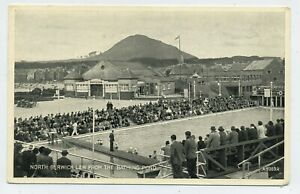 North Berwick Law from the Bathing Pool Vintage Postcard S14