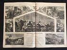 1865 newspaper ULYSSES S GRANT NEW YORK  CITY Thomas Nast Thanksgiving Engraving