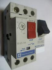 Telemecanique GV2-M05 Motor Starter Protector GV2M05 0.63AMP-1AMP 690V