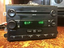 06 07 08 09 Ford Fusion F250 Milan Radio Mp3 Aux 6 Disc Cd Changer Player Oem
