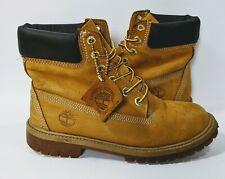Timberland Nubuck Boots 12909 Juniors Sz 4.5 M