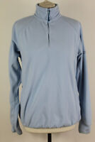 BERGHAUS Blue Fleece Full Zip Jumper size Uk 14