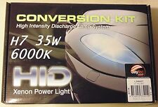 Jaylec HID Conversion Kit H7 Type 6000K 35W for Nissan Toyota Honda Subaru Ford