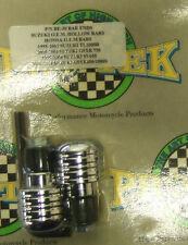 Pro Tek Motorcycle Bar Ends BE-30 CHROME Suzuki GSXR 600 750 1000 Honda F2 F3 F4