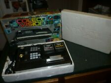 ColecoVision System Console in the Original Box + DK & Lady Bug, works!