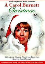 BRAND NEW DVD / A Carol Burnett Christmas w/ BOB NEWHART + CANDID CAMERA EPISODE