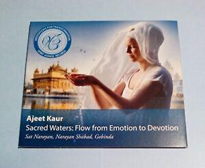 Ajeet Kaur - Sacred Waters. CD (2013). Very Good condition.