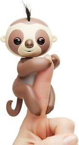 Fingerlings Brown Kingsley Baby Sloth - Children's Cute Mini Animal Toy Pets