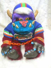 Vintage 1986 My Football Monster AmToy My Pet Monster-GC