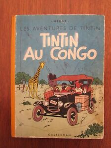 Tintin au Congo - B1 1946 - EO couleur Etat moyen