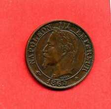 (BR.96) 5 CENTIMES NAPOLÉON III 1864 BB STRASBOURG (TTB+/TTB) LAURÉE