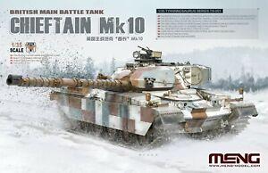 Meng Model 1/35 TS-051 British Main Battle Tank Chieftain MK10