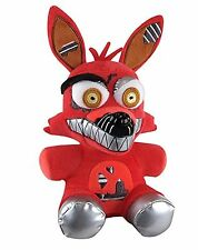 FNAF Five Nights at Freddys Series 2 Nightmare Red Foxy Exclusive Plush 6""