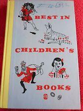 1959 BEST IN CHILDREN'S BOOKS ROBINSON CRUSOE CLARA BARTON STORY OF CHAN YUC