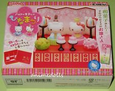 Re-ment Miniature Sanrio Hello Kitty Hinamatsuri Set NEW MISB HTF Retired 2010