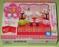 Re-ment Miniature Sanrio Hello Kitty Hinamatsuri Set NEW MISB HTF Retired 2010