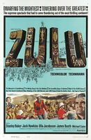 ZULU 1964 MOVIE POSTER FILM A4 A3 A2 PRINT ART CINEMA
