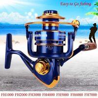 Spool 12BB Ball Bearing Portable Metal Spinning Fishing Reel Wheel High Speed
