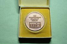 DDR Medaille - WB - VEB Wohnungsbau Kombinat Berlin - mit Original Schachtel