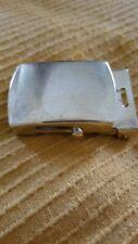 Brass vintage WWII belt buckle
