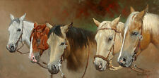 """Headgear"" Wayne Baize Limited Edition Western Print"