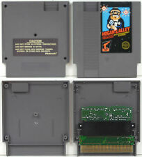 HOGAN'S ALLEY w/ FAMICOM CONVERTER (1985) NINTENDO NES GAME 5 SCREW **TESTED**