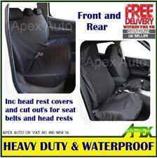 100% WATERPROOF Car MPV 4x4 FRONT & REAR seat covers protectors FULL SET