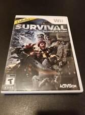 Cabela's Survival: Shadows of Katmai -- Nintendo Wii Game -- C+ CONDITION