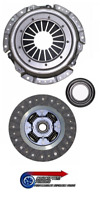 240mm 3 Piece Clutch Kit Standard Replacement - For S14 Zenki 200SX SR20DET