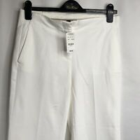 Brooks Brothers Women's White Capri Pants New With Tags