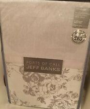 Jeff Banks Single Bed Set Sketch Rose Jacquard Ports Of Call Duvet Cover set New